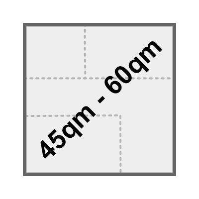 45qm - 60qm
